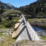 Barage de l'étang de Romedo de Baix