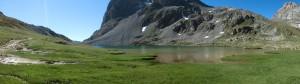 Le lac rond vu du Nord