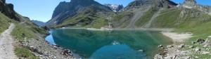Reflets dans le lac du Granc Bland