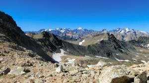Les Ecrins et la roche du Chardonnet